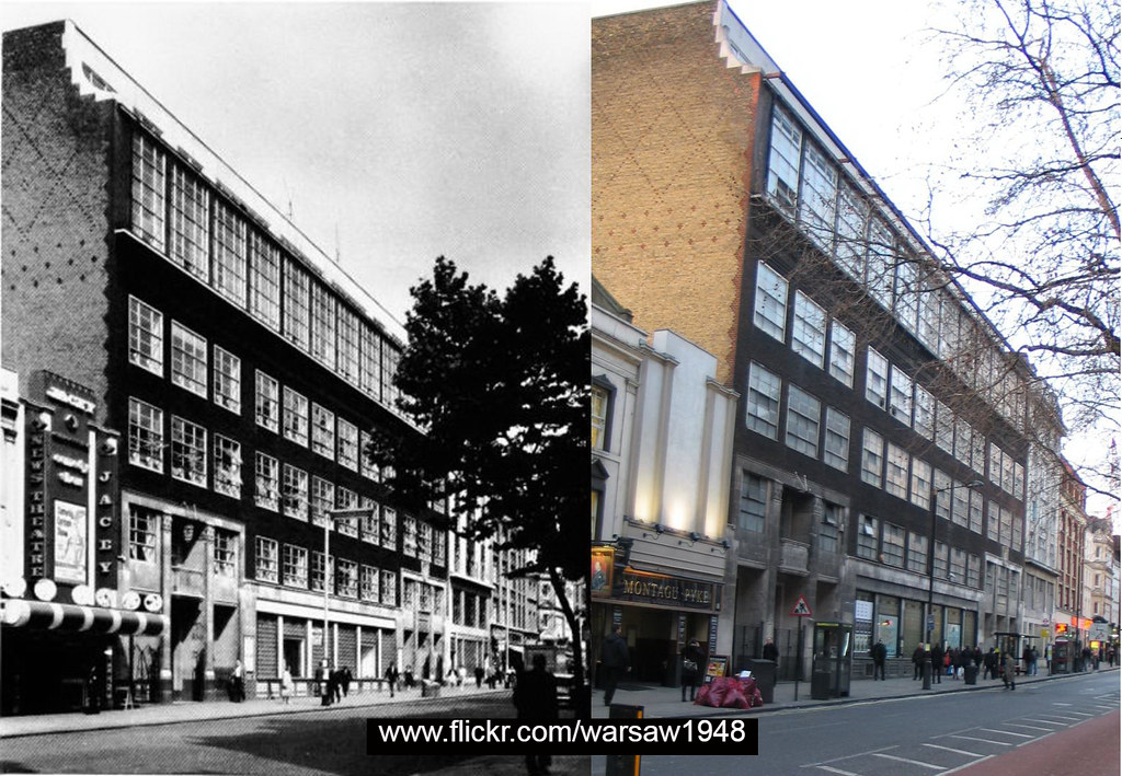 sports shoes 42f6c 28485 ... 297-Charing Cross Road, Jacey Cinema and St Martin s School 1960 and  2012