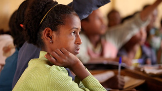 Student in classroom | by World Bank Photo Collection