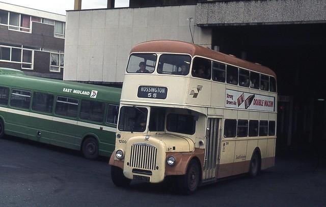 South Yorkshire PTE 1200 (200 NDT) ex Doncaster 200