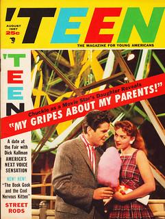 Teen Magazine 1957