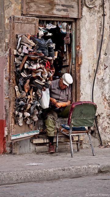 Shoe Repair, Havana