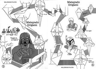Millennium Falcon origami diagram 3   by Matayado-titi