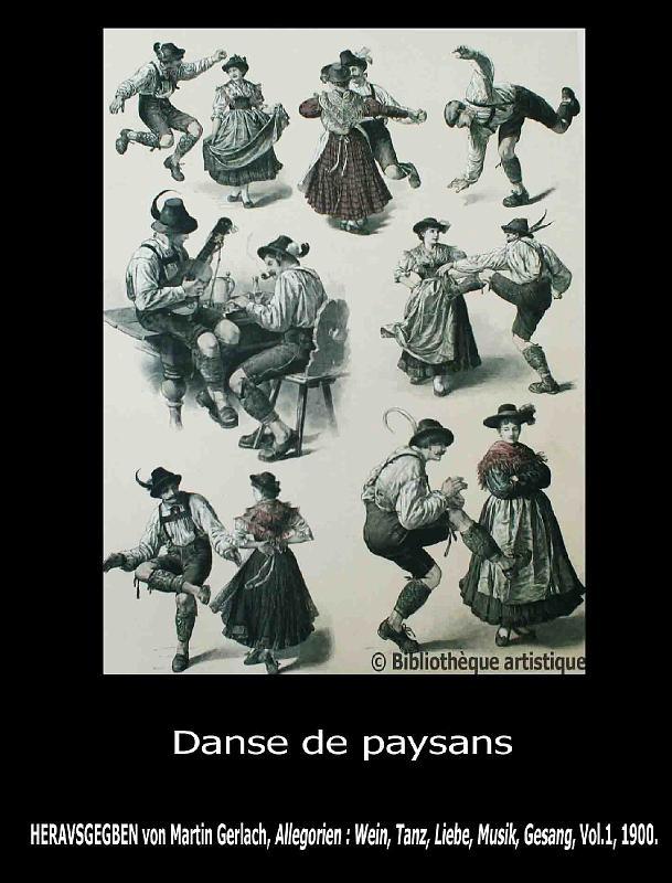 Danse de paysans