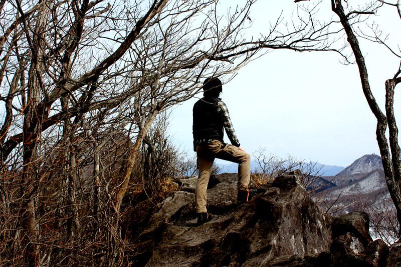 榛名山 登山