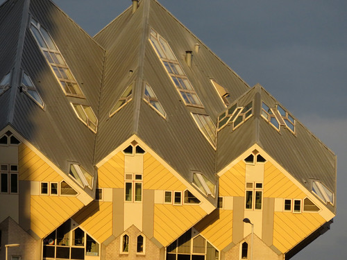 The Cube Huis in Rotterdam, Holland