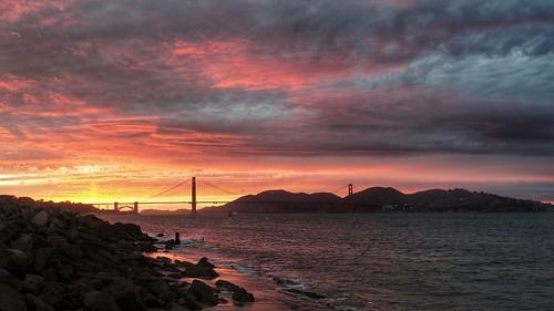 ocean sanfrancisco california sunset sea meer pacific olympus goldengate presidio kalifornien pazifik ozean mft microfourthirds olympus918 olympusem10