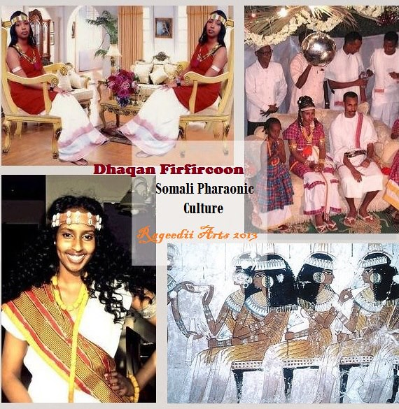 Dhaqan Firfircoon Gabadh 'Daban' / 'Daban' Somali Pharaoni