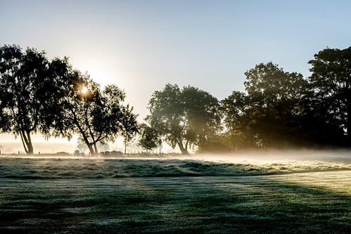 sun mist misty sunrise landscape dawn fujifilm sunrays sunbeams xt1