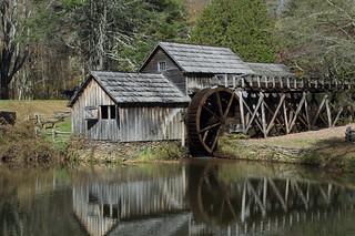 Blue Ridge Parkway 27 - Mabry Mill   by RNRobert