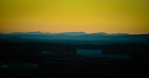 from blue autumn sunset mountains color fall colors virginia us office october colours view unitedstates ridge va northern reston fireeye