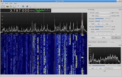 Gqrx 2.4 with Funcube Dongle Pro+ | by csete