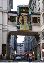 Wien/Vienna/Viden-Hoher Markt-Die Ankeruhr+Jindriska