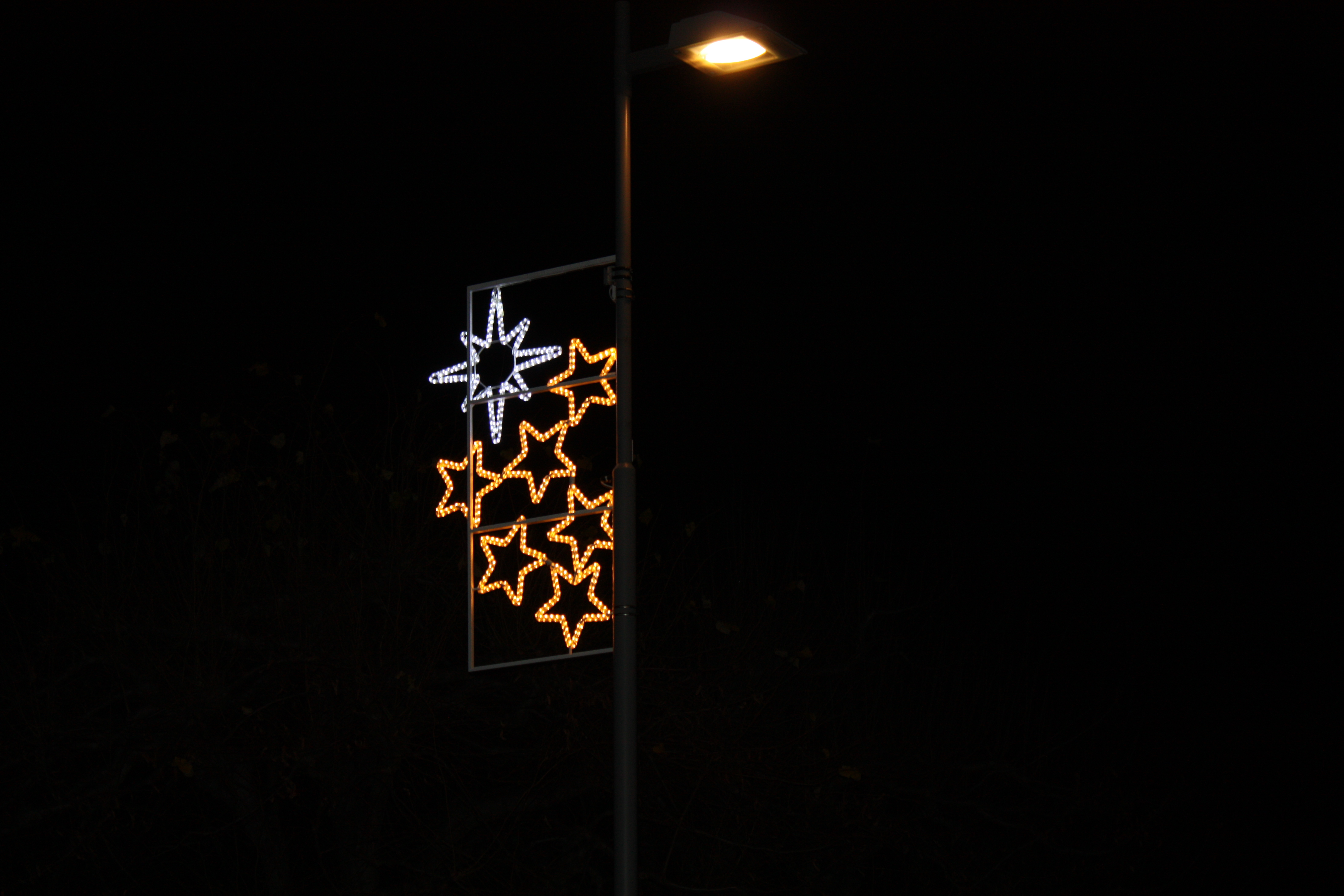 24.11.16 Einweihung der neuen Weihnachtsbeleuchtung