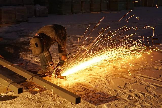 snow flame labor