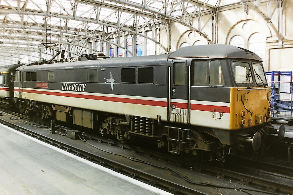 BRITISH RAIL 87008 CITY OF LIVERPOOL