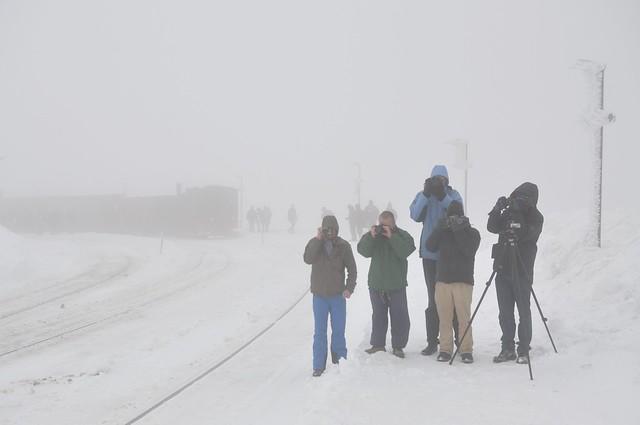 Fotograferen in weer en wind, Brocken, 19-02-2012