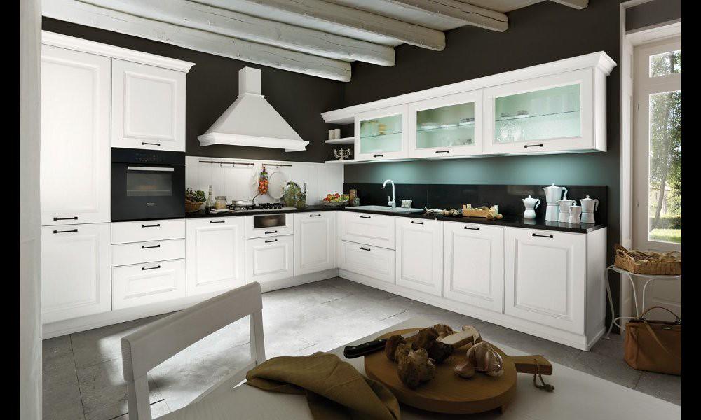 Cucina classica bianca | Gicinque Cucine - cucina classica m ...