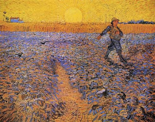 Vincent van Gogh - The Sower [1888]