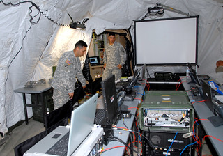 U.S. Army Africa Forward Command Post ready for worldwide missions