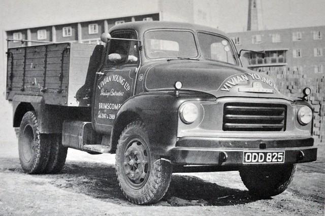 1956 Bedford A Series Tipper