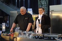 2012. március 10. 13:35 - Főzőshow az Almárium bisztró vezetőjével és Borbás Marcsival