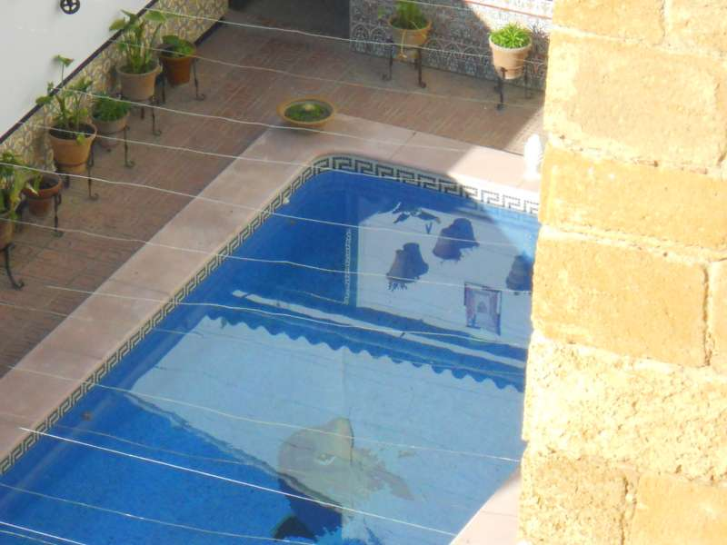 Piscina pequeña en patio Sevilla
