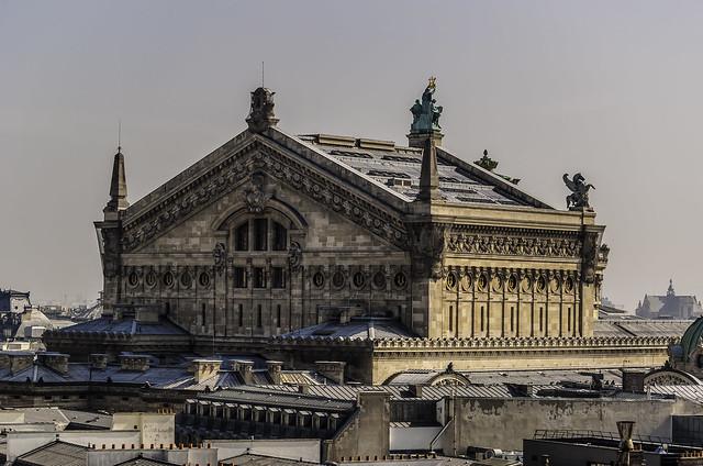 View from Top Floor of Printemps Department Store/Vue du sommet du magasin Printemps - Paris 75012 - 1 sur 8