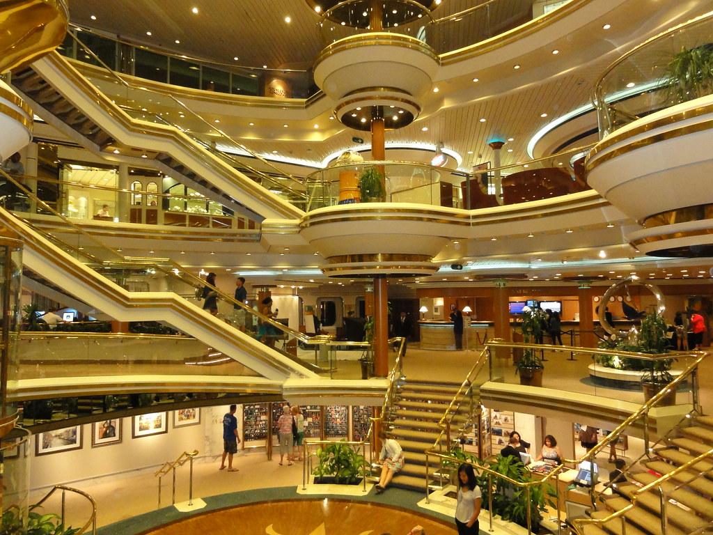 Inside The Cruise Ship