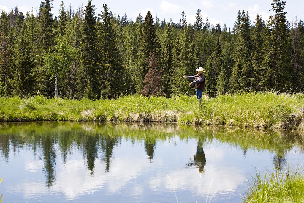 Fly Fishing at Echo Valley Ranch | W have well stocked ...