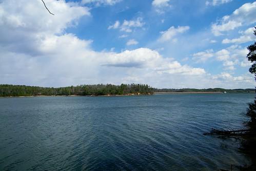 park cliff lake james state sandy north carolina overlook catawba