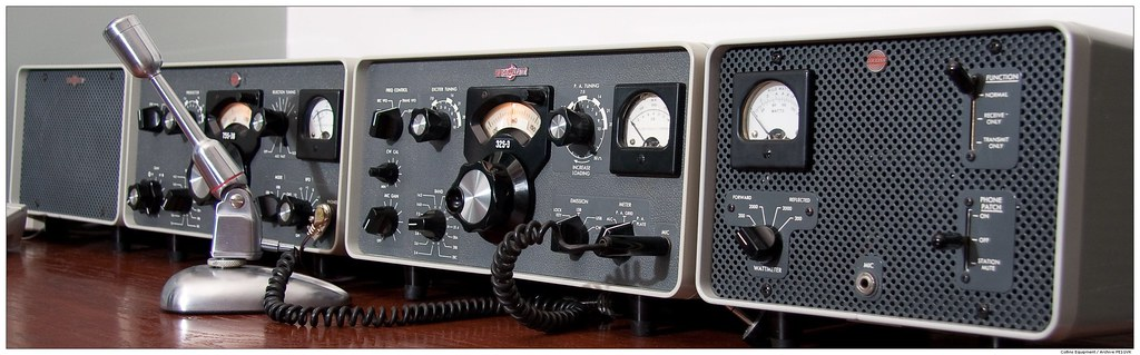 POWER CORD FOR COLLINS 75S-3 RECEIVER