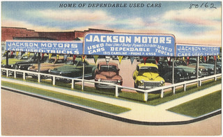 Jackson Motors, home of dependable used cars | by Boston Public Library
