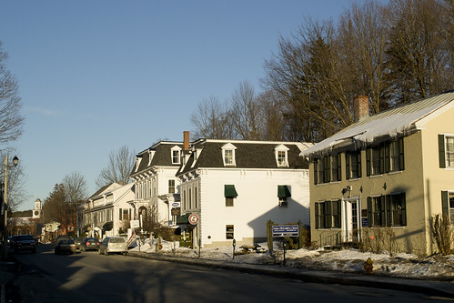 street new roof winter light sunset england urban house building architecture rural america french town wooden vermont afternoon village small victorian center tourist commercial elite empire frame wealthy expensive woodstock quaint picturesque federal trap vt photogenic upscale mansard