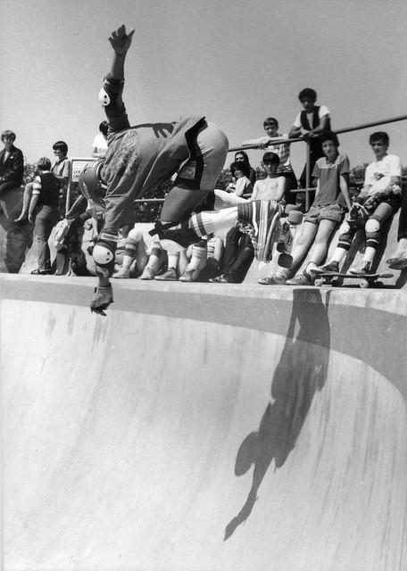 Steve Caballero,Scotland,Livingston Skatepark 1980s