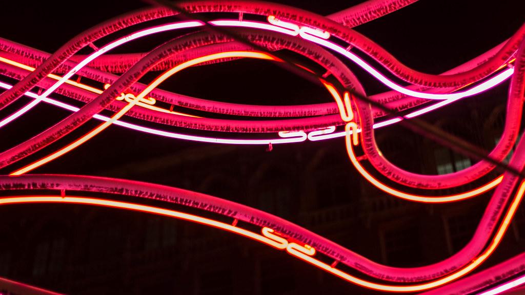 neon vines