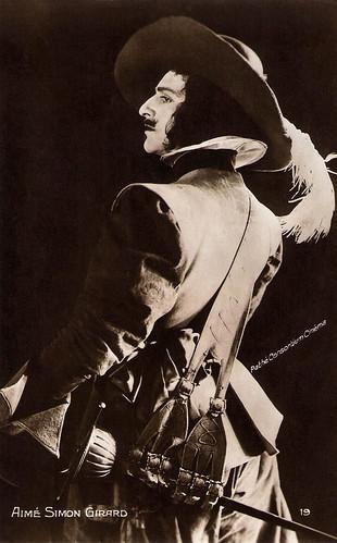 Aimé Simon-Girard as D'Artagnan in Les Trois Mousquetaires (1921)