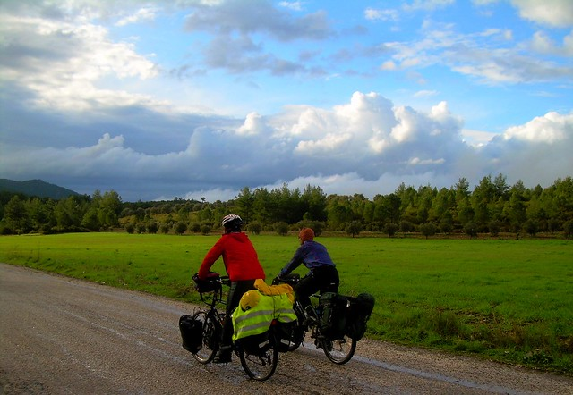 Idyllic cycling roads north of Mumcular by bryandkeith on flickr