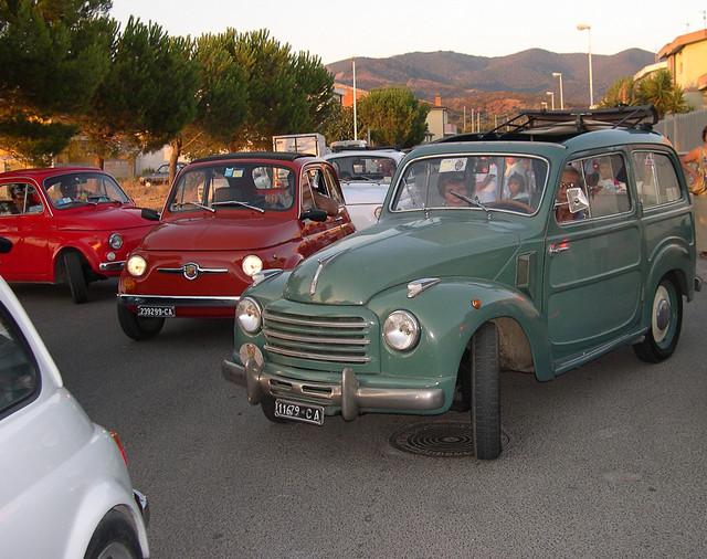 Sfilata Fiat 500