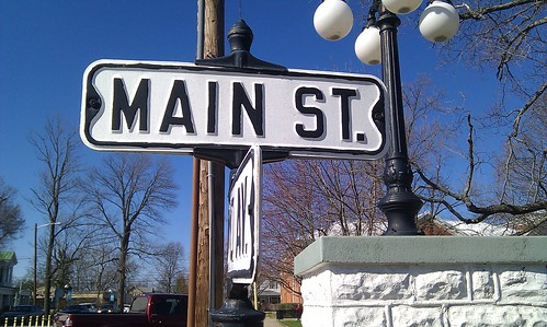 Main Street sign | by bjmccray