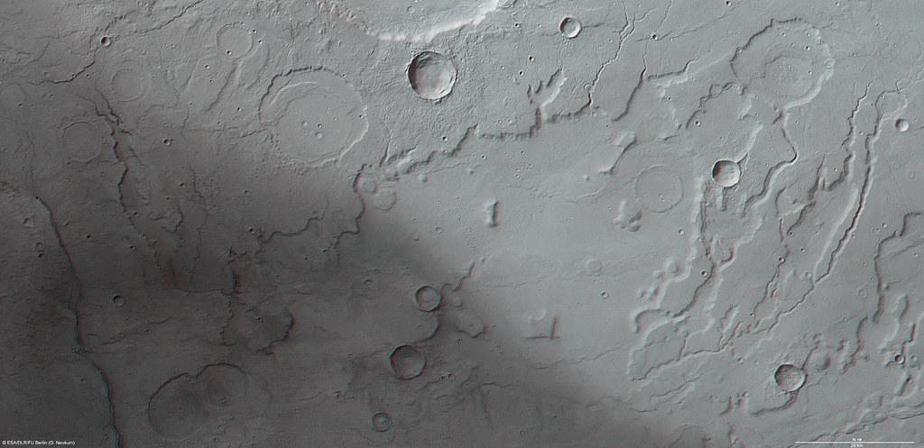 Mars in 3D: Acidalia Planitia and Tempe Terra