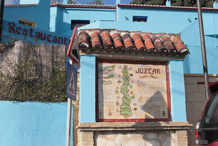 Smurf village, Juzcar - Juzcar Sign | by trishylicious