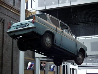 Ford Anglia 105E Deluxe sedan - Harry Potter Flying Car | by sv1ambo