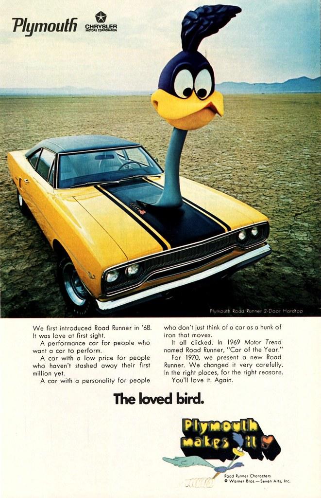 1970 Plymouth Road Runner 2-Door Hardtop