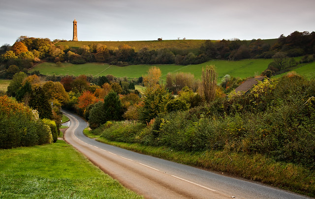 Road to Tyndale Monument