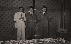 قراءة الفاتحة على ضريح القائد ضي الأعظم  محمد علي جناح - الباكستان - 29 آذار 1951