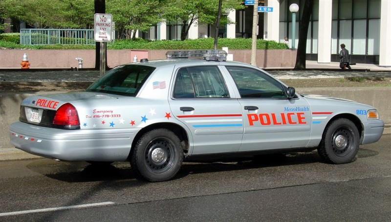 Metrohealth Police   This is not my photo  This photo was ta