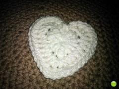 PlanetJune's Crocheted Heart