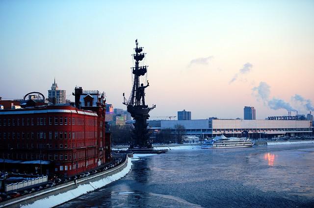 Art Strelka in Moscow