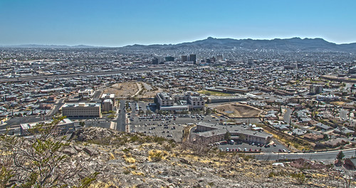park urban usa mountains southwest west america downtown texas view desert south unitedstatesofamerica sunny el clear paso hdr highdynamicrange murchison