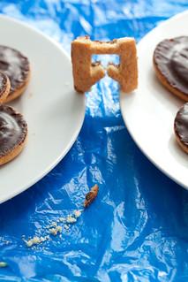 Tower Bridge Jaffa Cakes | by Dominic Wilcox